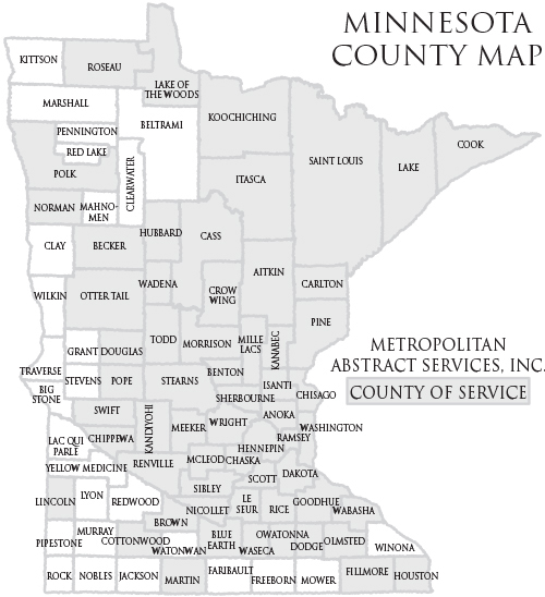Minnesota Map